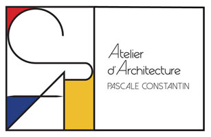 logo architecture Pascale Constantin